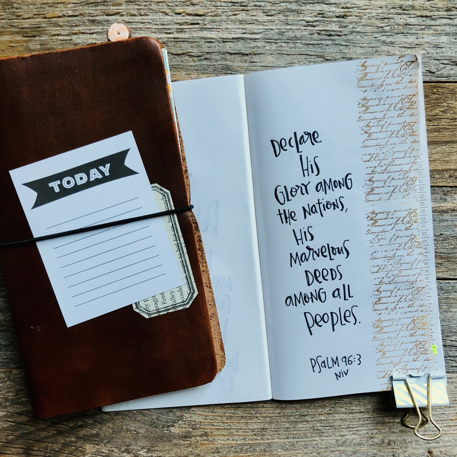 #30 Days of Bible Lettering #lettering #handlettering #travelers notebook #journal cards #instant downloads #journaling cards #memorykeeping #midori
