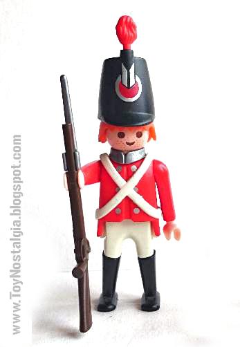 """Playmobil 3544, soldado casaca roja """"napoleónico"""" - Waterloo  (Playmobil 3544 - redcoats)"""