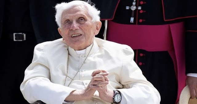 Oh No! Former Pope Benedict Is Seriously Sick