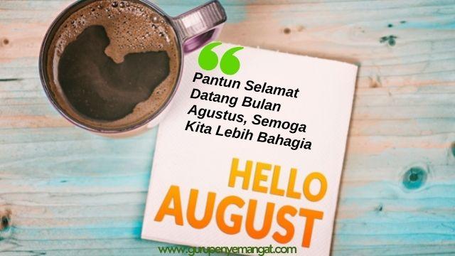 Pantun Selamat Datang Bulan Agustus, Semoga Kita Lebih Bahagia