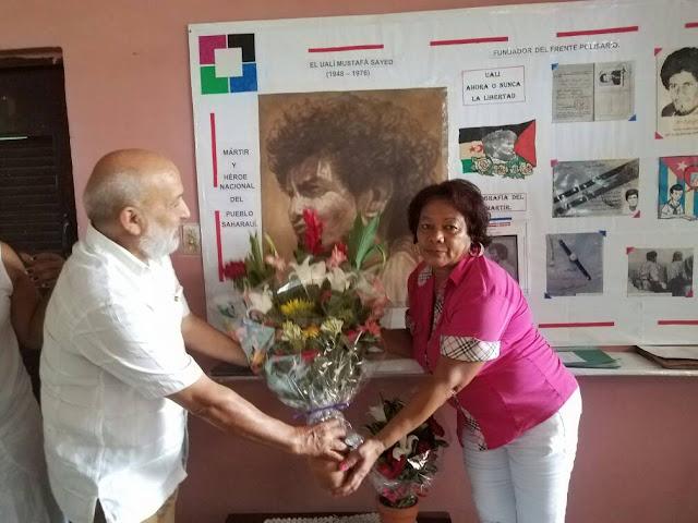 كوبا: سفارة الجمهورية الصحراوية تخلد اليوم الوطني للشهداء