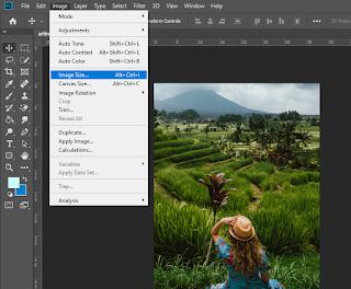 cara memperbesar foto jpg melalui photoshop