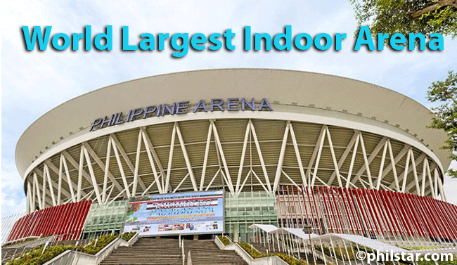 Opening of World Largest Indoor Arena named Philippine Arena created by Iglesia Ni Cristo