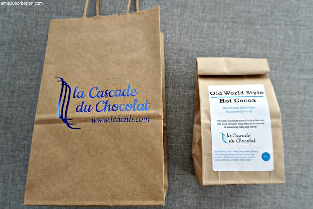 Chocolate de La Cascade du Chocolat en Exeter, New Hampshire