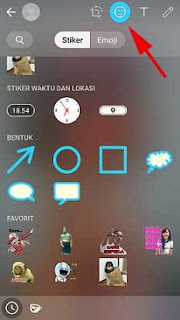 Cara Membuat Status Di WA (Whatsapp) Dengan Stiker