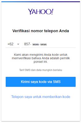Cara Membuat Email Baru YAHOO Indonesia Terbaru 29