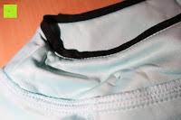 Kragen: MODETREND Damen Kleider mit Bogen 1/2-Arm Etui Elastisch Tulpenkleid Wort Schulter Partykleider Bleistiftrock Abendkleid Casualkleider