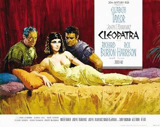 Película Cleopatra 1963 - Póster original