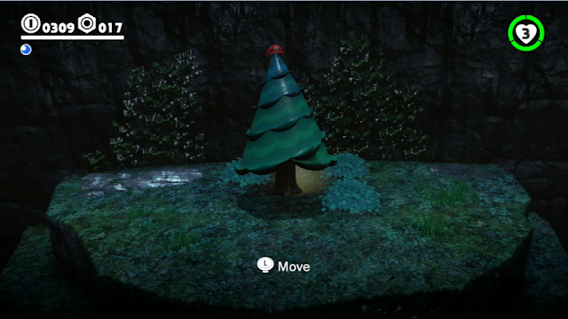 Super Mario Odyssey tree transformation