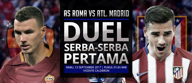 Prediksi Bola Champions League AS Roma vs Atletico Madrid
