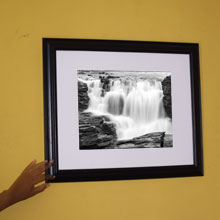 Waterfalls Monochrome Framed Print Wall Frame in Port Harcourt, Nigeria