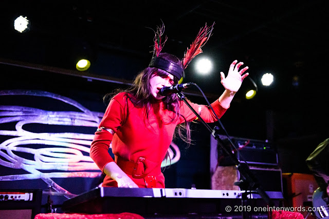 Le Butcherettes at The Velvet Underground on February 22, 2019 Photo by John Ordean at One In Ten Words oneintenwords.com toronto indie alternative live music blog concert photography pictures photos nikon d750 camera yyz photographer
