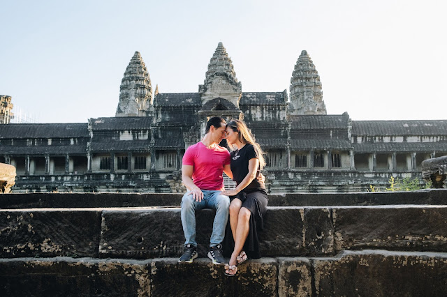 H & L - Angkor Wat Honeymoon