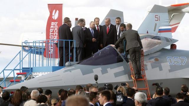 Ερντογάν σε Πούτιν για τα SU-57: Από αυτά θα πάρουμε;