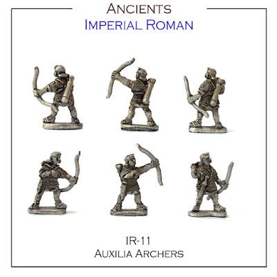 IR-11 Auxilia Archers - Single Figures - (32 Singles figures + 4 bases)