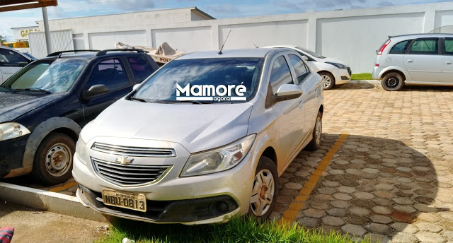 Carro roubado em Porto Velho é recuperado pela PM de Nova Mamoré
