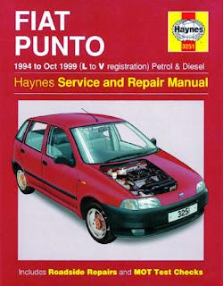 Haynes Workshop Repair Manual Fiat Punto 94 - 99