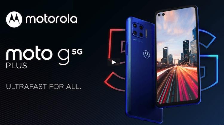 Motorola Unveiled Moto G 5G Plus SmartPhone