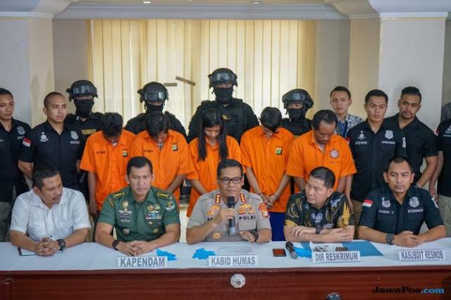 Lima Jukir Pengeroyok Anggota TNI Ditangkap, Ini Peran Masing-masing