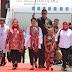 Iriana Djoko Widodo bersama Ibu Mufidah Jusuf Kalla 2 Hari di Ambon