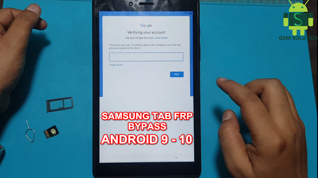 All Samsung Tab Google Account Bypass Android 9,10 Latest Security 2020 March-Jun Patch Without Pc