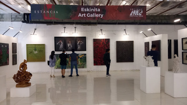 Eskinita Art Gallery at Ortigas Art Festival 2020