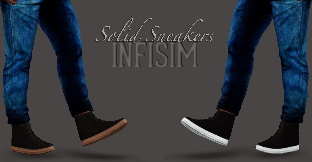 My Sims 3 Blog Solid Sneakers By Infisim