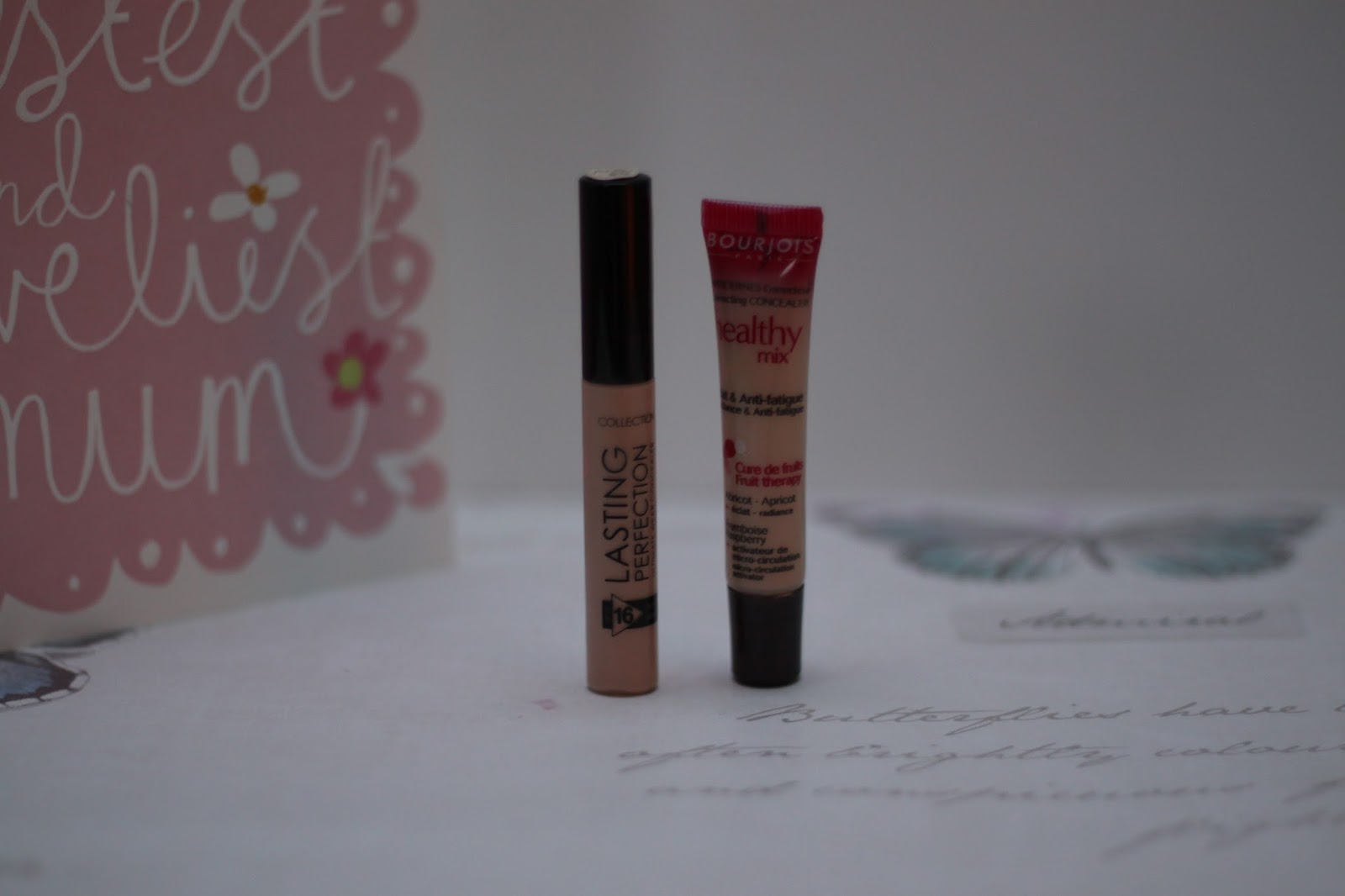 Perfecting my Imperfections - Budget Concealers