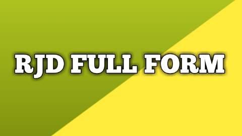 JDU FULL FORM  || MEANING & HISTORY OF JDU ||