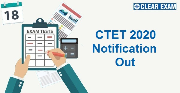 CTET 2020 Notification Out