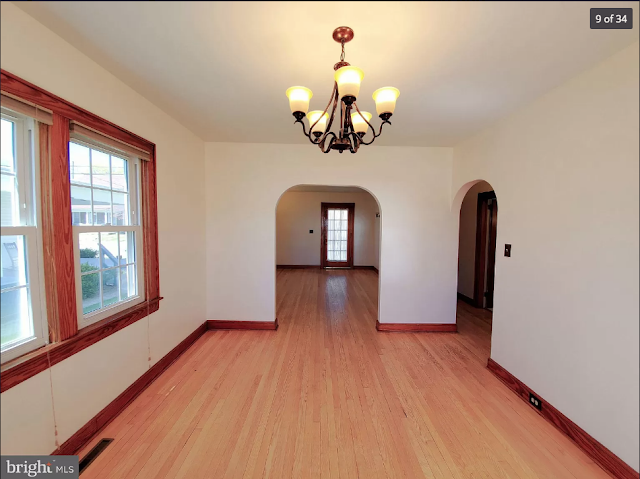 natural wood oak floors and craftsman trim Sears Lorain • 270 Broad Street, Landisville, Pennsylvania