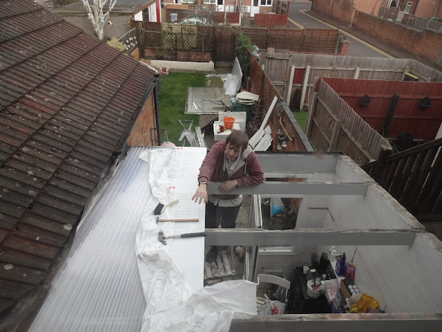 fitting a new conservatory roof