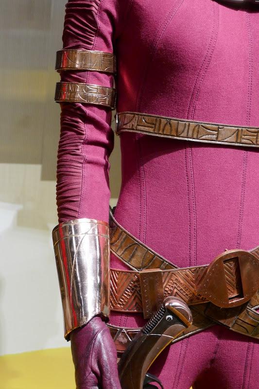 Zorii Bliss costume detail Star Wars Rise of Skywalker