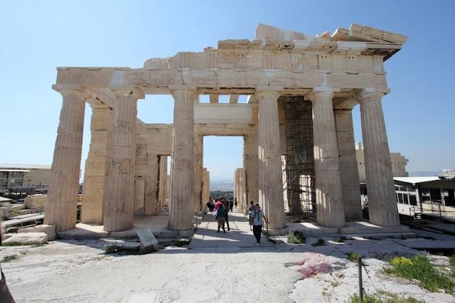 Propileu, Atenas