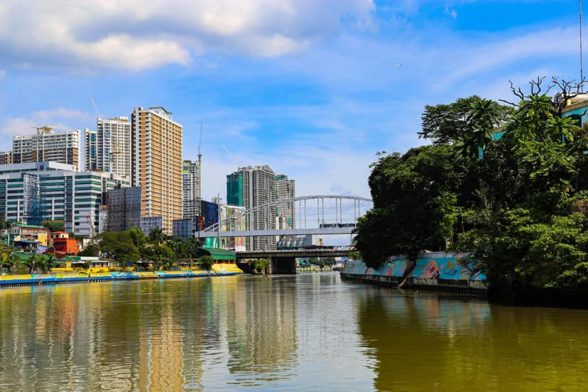beautiful and improving Pasig River