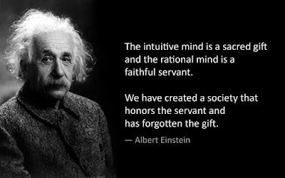 Greatest Movie Quotes OF All Time: the intuitive mind a sacred gift and the rational mind is a faithful servant.