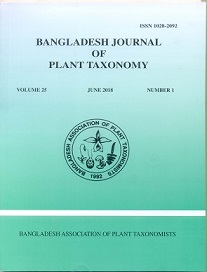BJPT - Bangladesh Journal of Plant Taxonomy