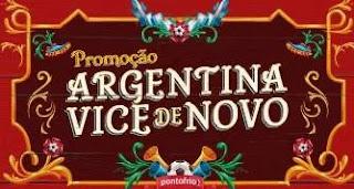 Promoção Ponto Frio 2019 Argentina Vice De Novo Copa América - Ganhe 500 Reais