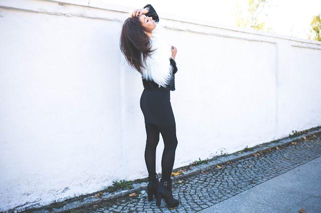 Czarno białe futerko - Czytaj więcej