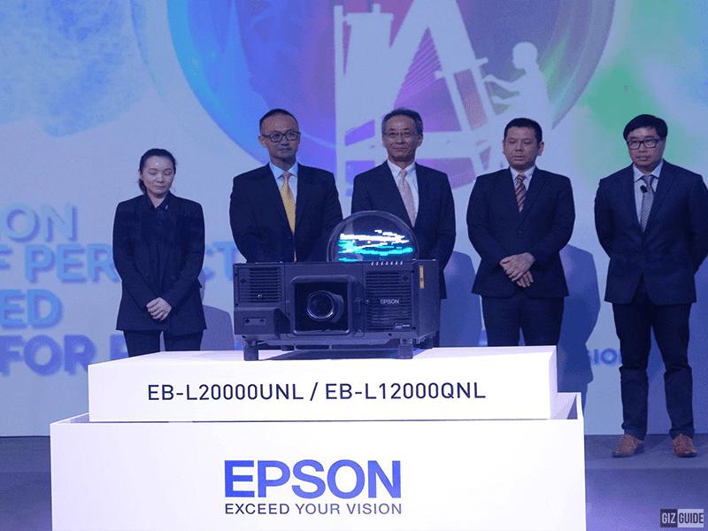 Epson's latest projectors