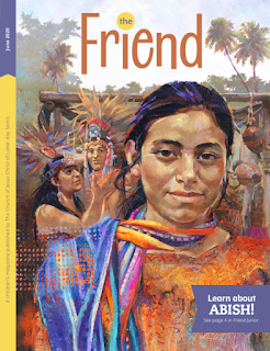 Cover of the June 2020 issue of The Friend magazine