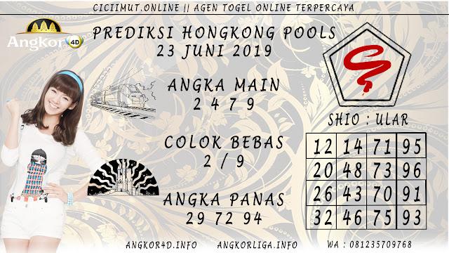 PREDIKSI HONGKONG POOLS 23 JUNI 2019