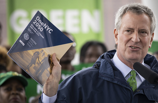De Blasio's 'green' skyscraper idea is pure stupidity