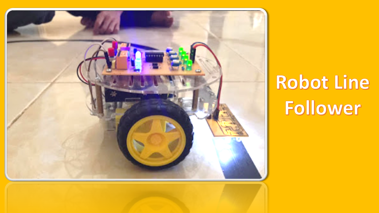 Skema Rangkaian Rancang bangun robot Line Follower Analog