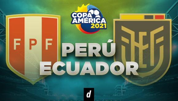 Perú vs. Ecuador EN VIVO por América TV y América GO por la Copa América 2021