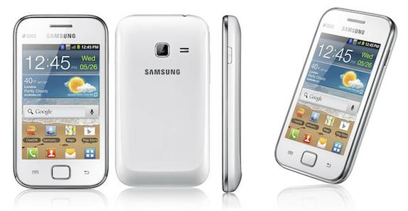 dz tech: مواصفات وسعر هاتف Samsung Galaxy Ace Duos من نجمة