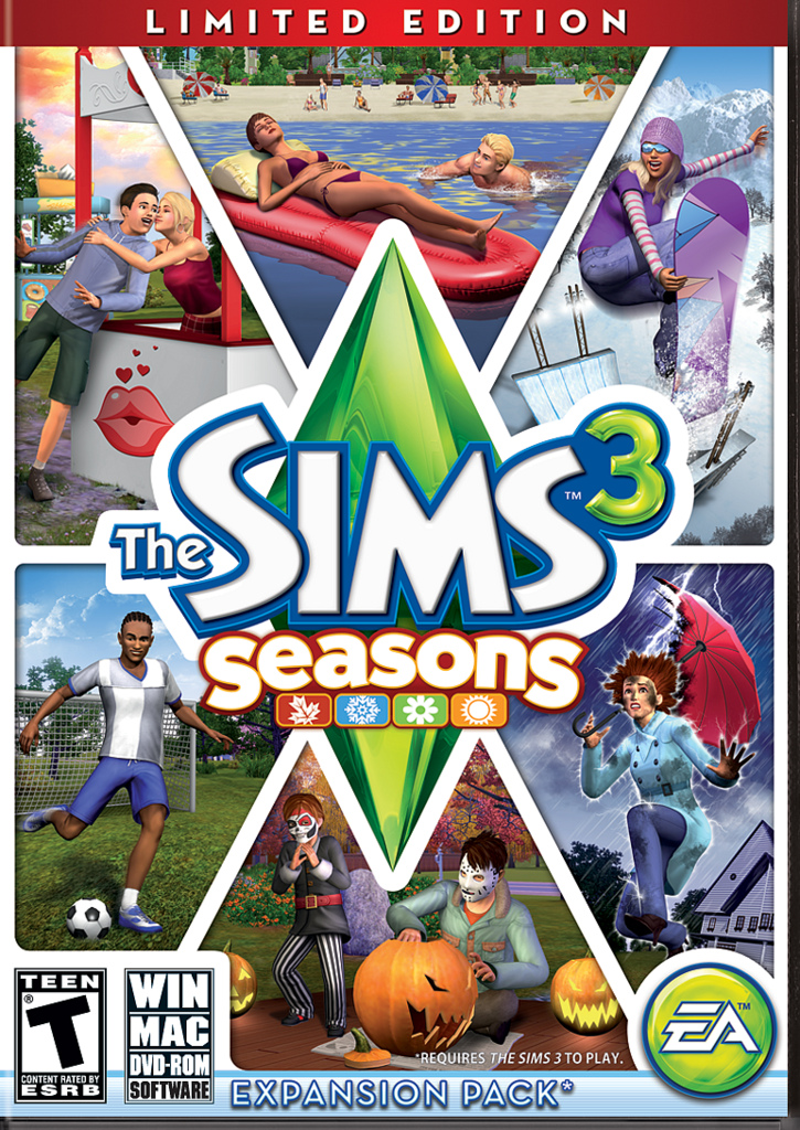The sims 3 seasons (limited edition) (english version) (dvd-rom).