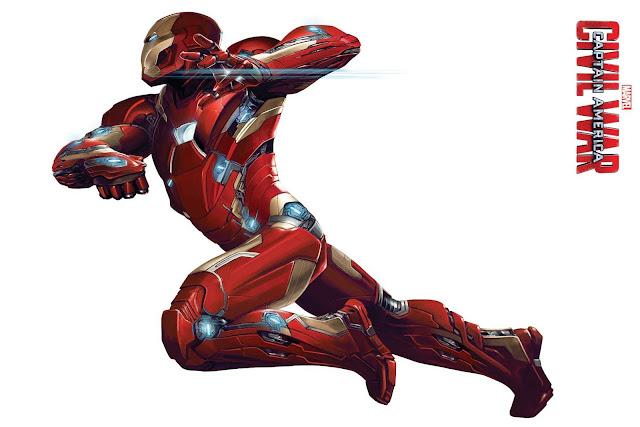Imágenes promocionales de 'Capitán América: Civil War' de los equipos de Iron Man y Capitán América