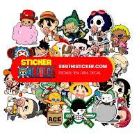 sticker one piece