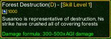 naruto castle defense 6.3 Madara Forest Destruction detail